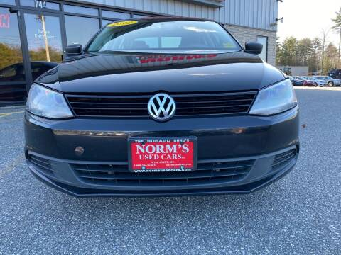 2012 Volkswagen Jetta for sale at Norm's Used Cars INC. in Wiscasset ME