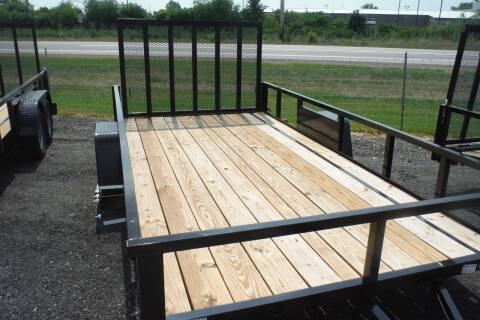 2021 Quality Steel 82 X 14 LANDSCAPE for sale at Bryan Auto Depot in Bryan OH