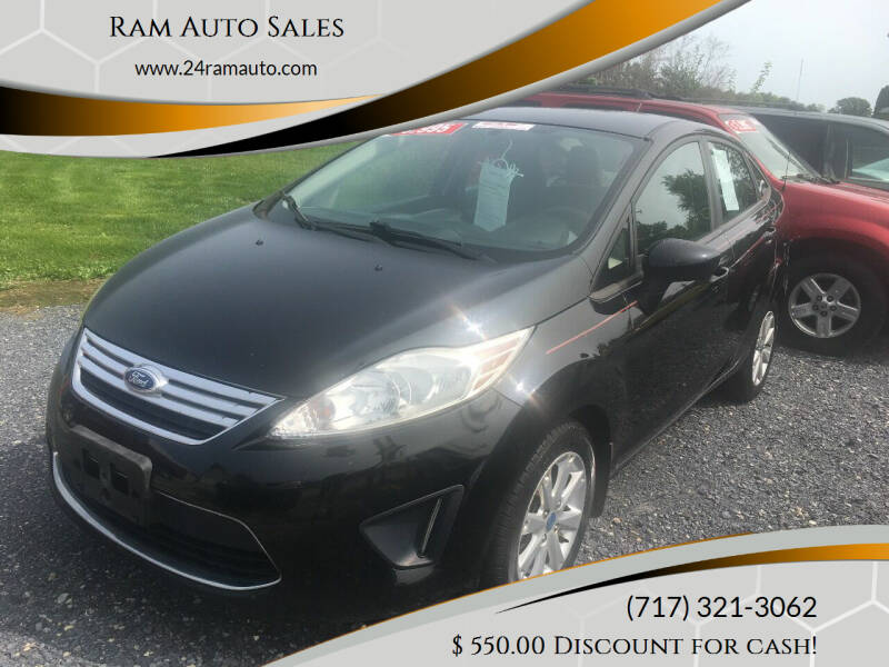 2012 Ford Fiesta for sale at Ram Auto Sales in Gettysburg PA