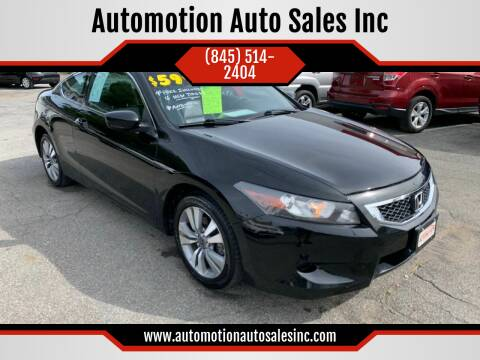 2009 Honda Accord for sale at Automotion Auto Sales Inc in Kingston NY