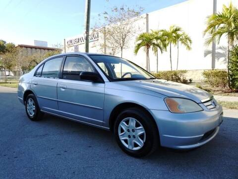2003 Honda Civic for sale at SUPER DEAL MOTORS in Hollywood FL