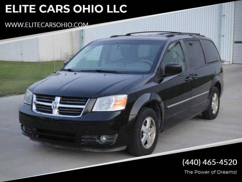 2008 Dodge Grand Caravan for sale at ELITE CARS OHIO LLC in Solon OH