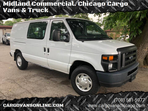 2012 Ford E-Series Cargo for sale at Midland Commercial. Chicago Cargo Vans & Truck in Bridgeview IL
