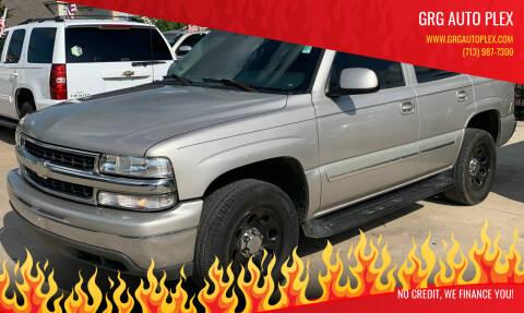 2005 Chevrolet Tahoe for sale at GRG Auto Plex in Houston TX