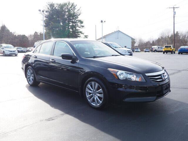 2012 Honda Accord for sale at Patriot Motors in Cortland OH