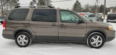 2008 Pontiac Montana for sale at Hilltop Auto in Clare MI