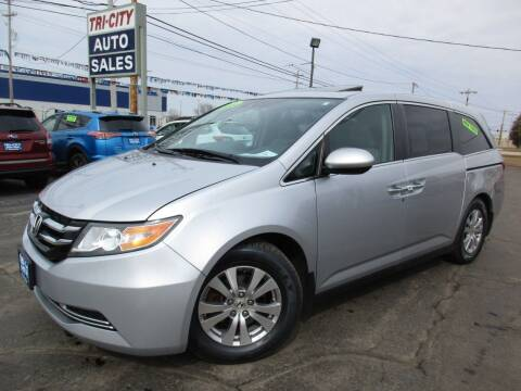 2014 Honda Odyssey for sale at TRI CITY AUTO SALES LLC in Menasha WI