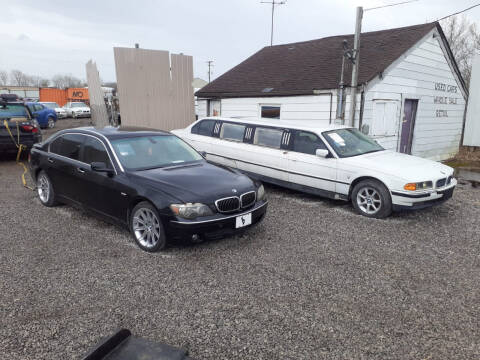 2006 BMW 7 Series for sale at EHE Auto Sales Parts Cars in Marine City MI