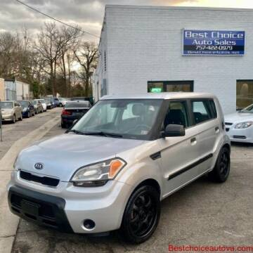 2010 Kia Soul for sale at Best Choice Auto Sales in Virginia Beach VA