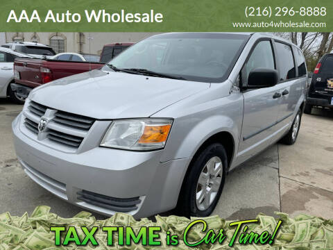 2008 Dodge Grand Caravan for sale at AAA Auto Wholesale in Parma OH
