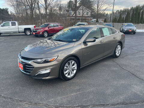 2020 Chevrolet Malibu for sale at Glen's Auto Sales in Fremont NH