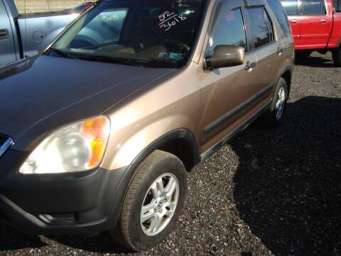 2002 Honda CR-V for sale at Branch Avenue Auto Auction in Clinton MD