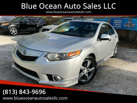 2012 Acura TSX for sale at Blue Ocean Auto Sales LLC in Tampa FL