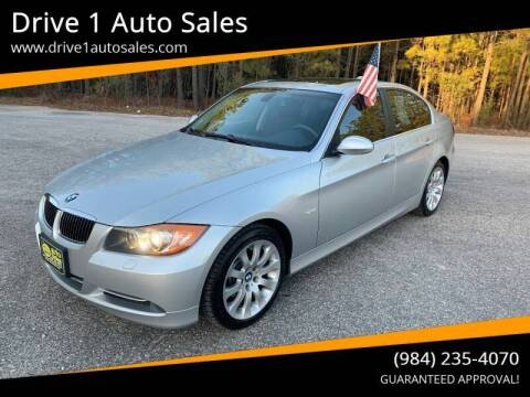 2008 BMW 3 Series for sale at Drive 1 Auto Sales in Wake Forest NC