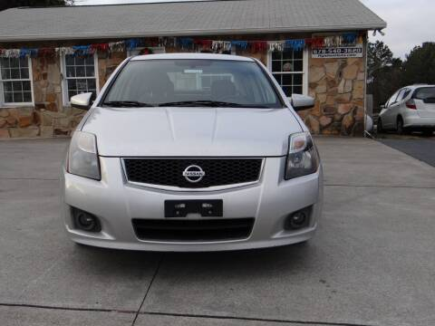2011 Nissan Sentra for sale at Flywheel Auto Sales Inc in Woodstock GA