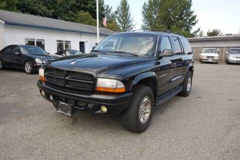 2001 Dodge Durango for sale at Leavitt Auto Sales and Used Car City in Everett WA
