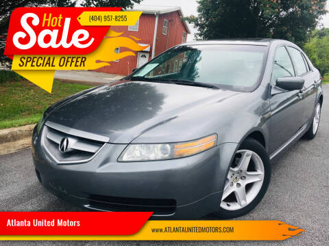 2005 Acura TL for sale at Atlanta United Motors in Buford GA