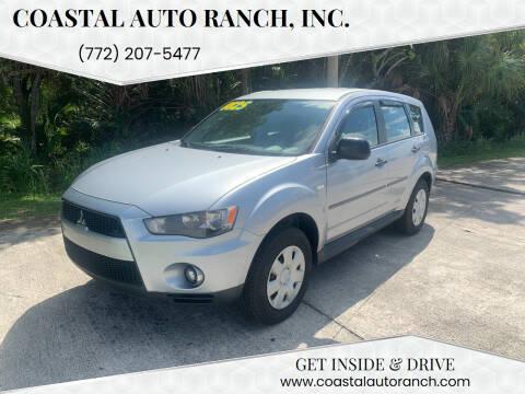 2010 Mitsubishi Outlander for sale at Coastal Auto Ranch, Inc. in Port Saint Lucie FL