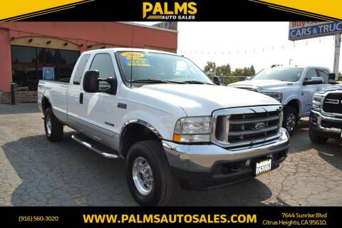 2003 Ford F-250 Super Duty for sale at Palms Auto Sales in Citrus Heights CA