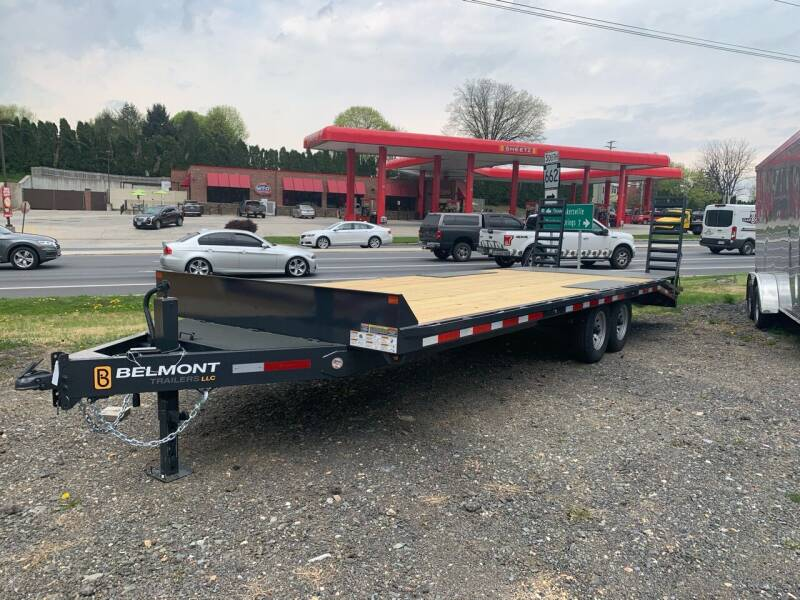 2021 Belmont Deckover 24' 14k  for sale at Smart Choice 61 Trailers in Shoemakersville PA