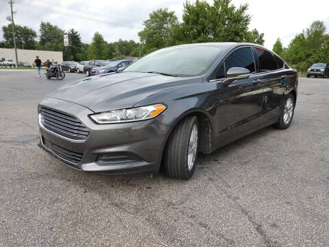 2016 Ford Fusion for sale at Cruisin' Auto Sales in Madison IN