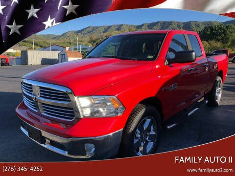 2014 RAM Ram Pickup 1500 for sale at FAMILY AUTO II in Pounding Mill VA
