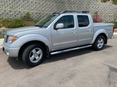 2006 Nissan Frontier for sale at CALIFORNIA AUTO GROUP in San Diego CA