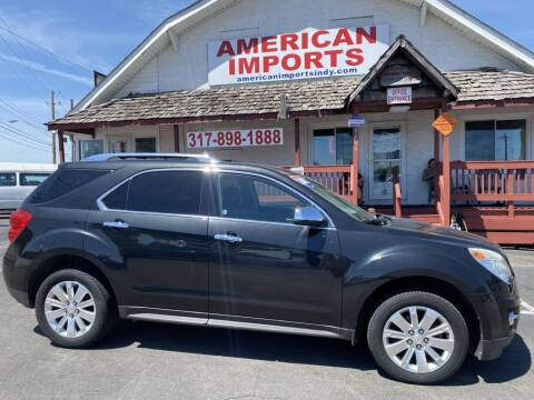2011 Chevrolet Equinox for sale at American Imports INC in Indianapolis IN