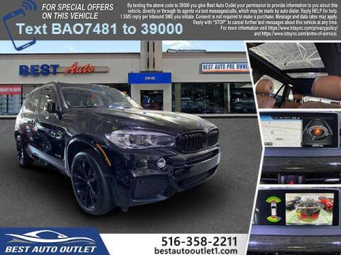 2017 BMW X5 for sale at Best Auto Outlet in Floral Park NY