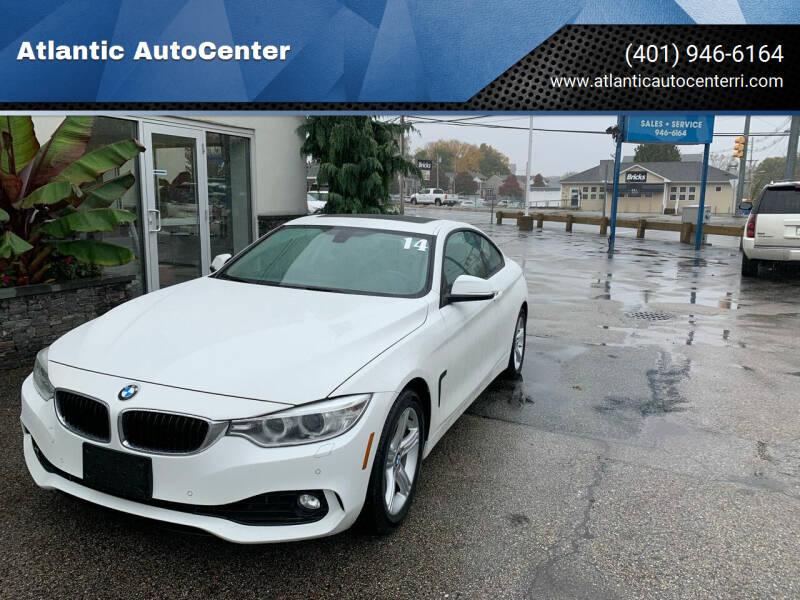 2014 BMW 4 Series for sale at Atlantic AutoCenter in Cranston RI