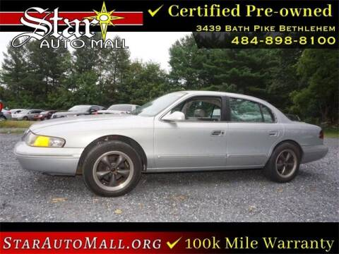 1995 Lincoln Continental for sale at STAR AUTO MALL 512 in Bethlehem PA