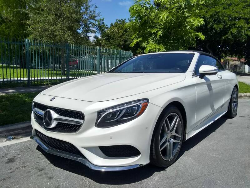 2017 Mercedes-Benz S-Class for sale at Exotic Auto Brokers in Miami FL