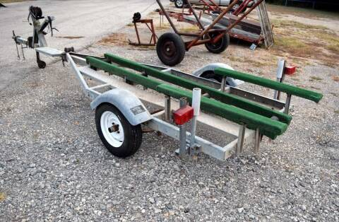 1971 Texas Royal Little Dude 15' boat trailer for sale at BriansPlace in Lipan TX