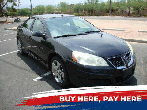 2010 Pontiac G6 for sale at FREDRIK'S AUTO in Mesa AZ