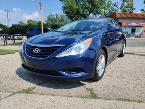 2012 Hyundai Sonata for sale at Lamarina Auto Sales in Dearborn Heights MI