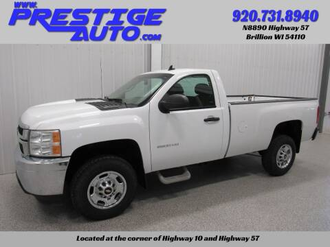 2014 Chevrolet Silverado 2500HD for sale at Prestige Auto Sales in Brillion WI