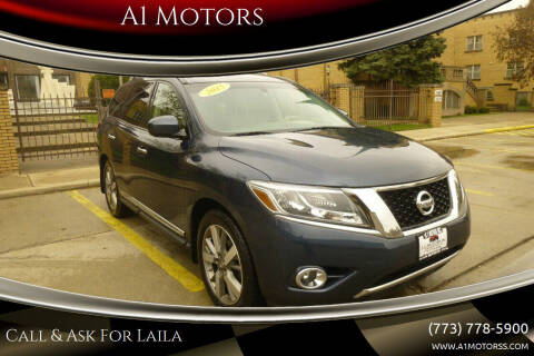 2015 Nissan Pathfinder for sale at A1 Motors Inc in Chicago IL