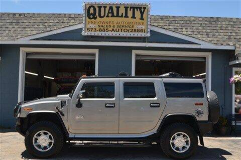 2003 HUMMER H2 for sale at Quality Pre-Owned Automotive in Cuba MO