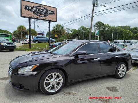 2013 Nissan Maxima for sale at Trust Motors in Jacksonville FL