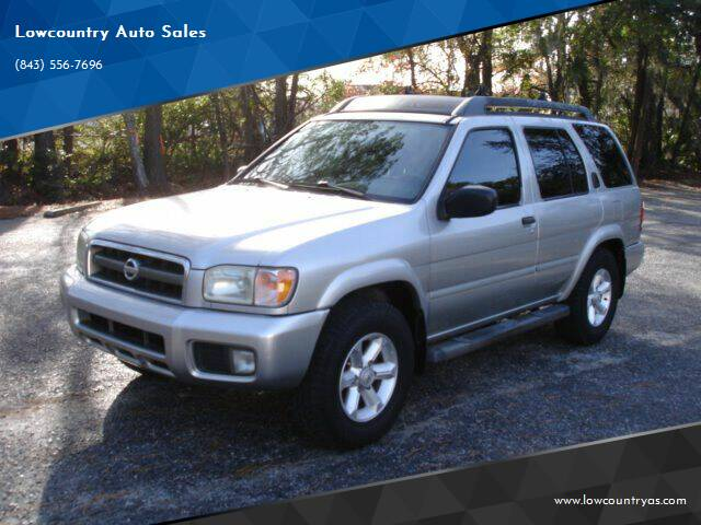 2004 Nissan Pathfinder for sale at Lowcountry Auto Sales in Charleston SC