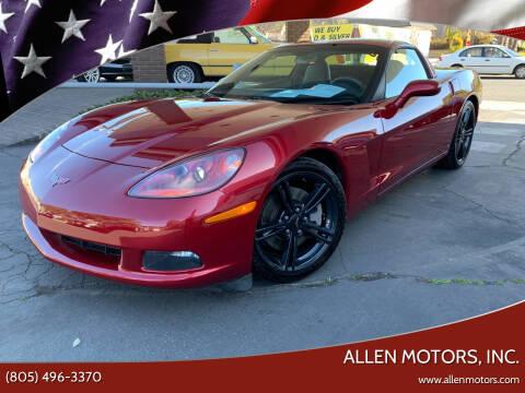 Chevrolet Corvette For Sale In Thousand Oaks Ca Allen Motors Inc