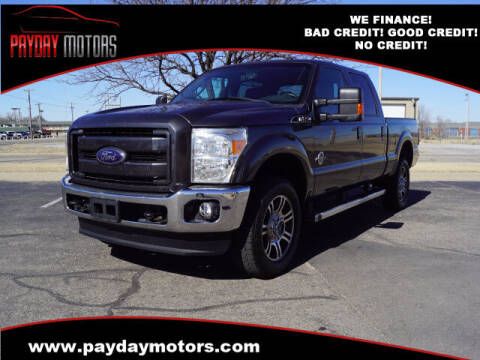 2015 Ford F-250 Super Duty for sale at Payday Motors in Wichita And Topeka KS