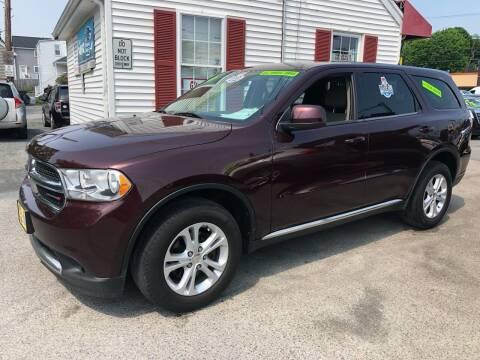 2012 Dodge Durango for sale at Crown Auto Sales in Abington MA