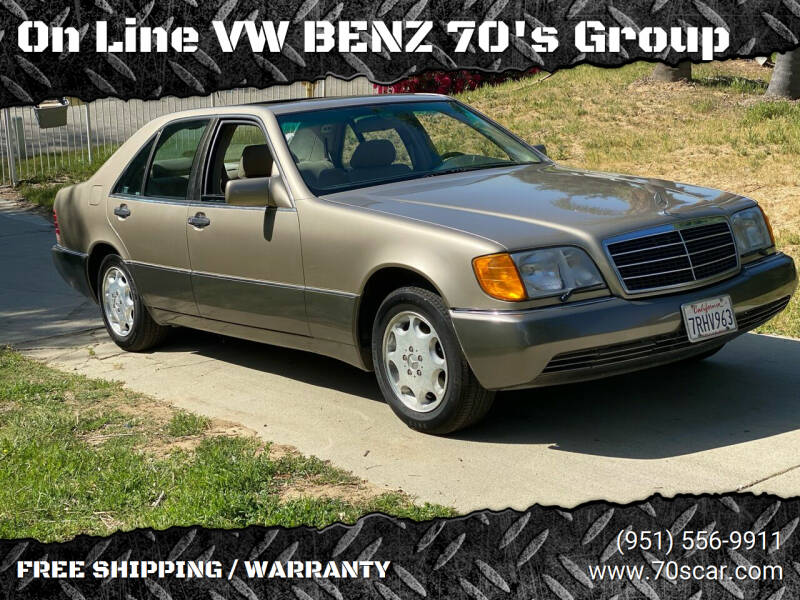 1992 Mercedes-Benz 300-Class for sale at OnLine VW-BENZ.COM Auto Group in Riverside CA