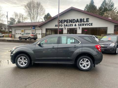 2017 Chevrolet Equinox for sale at Dependable Auto Sales and Service in Binghamton NY