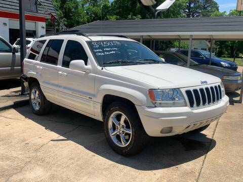 2002 Jeep Grand Cherokee for sale at C & P Autos, Inc. in Ruston LA