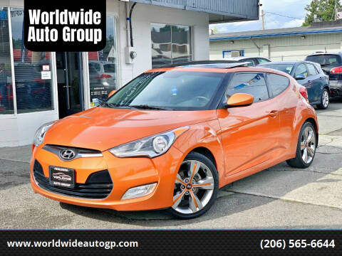 2012 Hyundai Veloster for sale at Worldwide Auto Group in Auburn WA