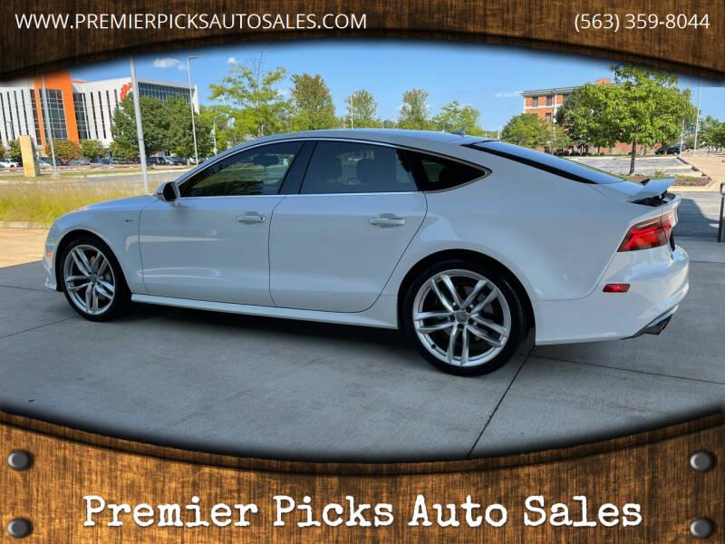 2016 Audi A7 for sale at Premier Picks Auto Sales in Bettendorf IA