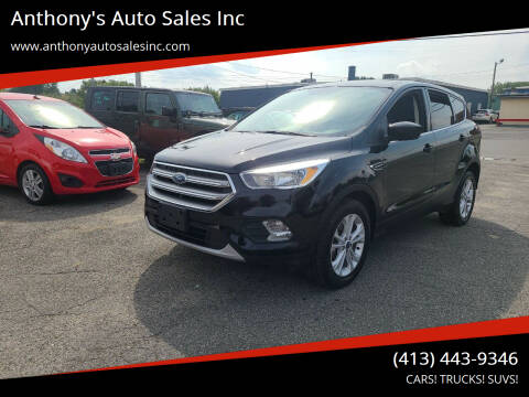 2017 Ford Escape for sale at Anthony's Auto Sales Inc in Pittsfield MA