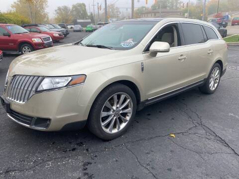 2011 Lincoln MKT for sale at MARK CRIST MOTORSPORTS in Angola IN